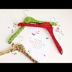 Other - Lot of 9 Multi-Color Sequin Hangers